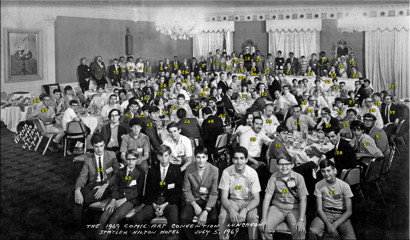 1969 NYCC Luncheon Photo with ID's
