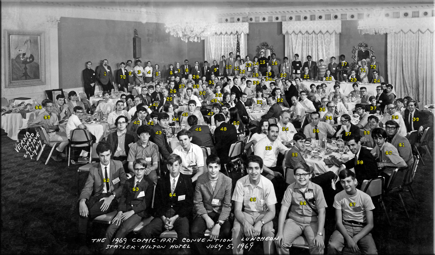 1969 NYCC Comic Art Convention Luncheon