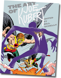 The Art of Joe Kubert, edited by Bill Schelly