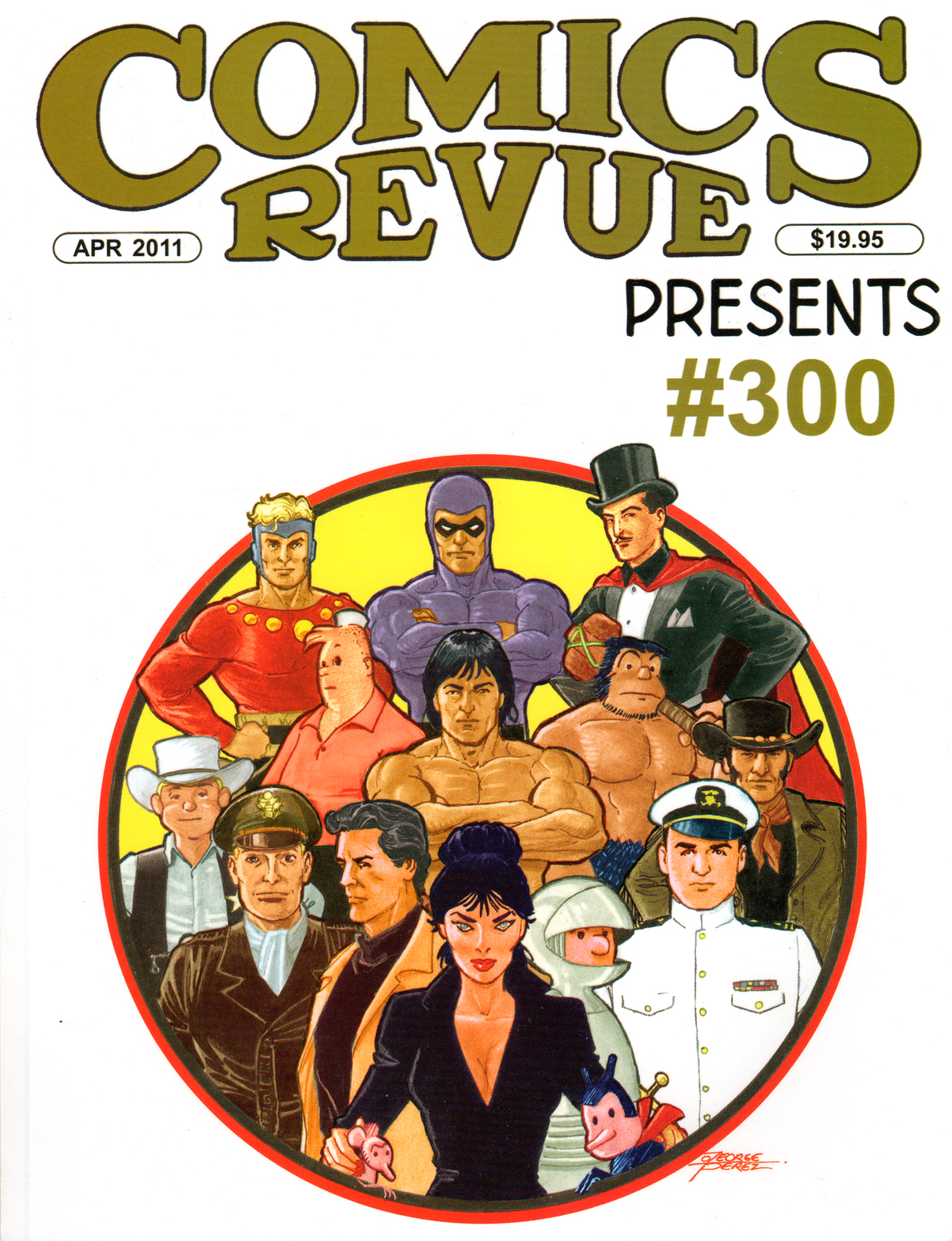 Comic Revue #300, Edited by Rick Norwood